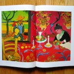 For Matisse's woman sitting at the table, Chen has substituted Van Gogh's Arlésienne, Madame Ginoux; instead of Matisse's stylized flowerpots on the wallpaper and tablecloth, we see Vincent's sunflowers; the chair in the left foreground has become Vincent's chair, complete with his pipe and tobacco. The window at the upper left, which in Matisse's work looked onto a very flattened, stylized landscape, is now a quotation – in mirror image – of The Painter on the Road to Tarascon. The painter, laden with materials, is returning home to the little woman at the end of a hard day's work – a situation, in fact, that Vincent himself passionately desired. A final stage has been reached: the pilgrim Van Gogh has now become no more than a pictorial cliché.""