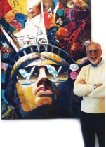 David Wolper, famed American film director and the Supervisor-General of the ''Centennial Celebration of the Statue of Liberty ''(1986)