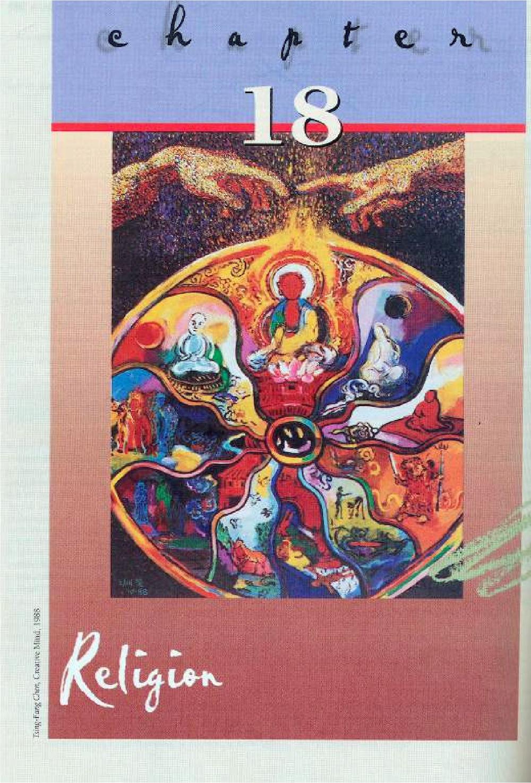 在這本「社會學」教科書上,   陳博士「都市人拾穗者」及「創造之心」出現於章節的首頁。