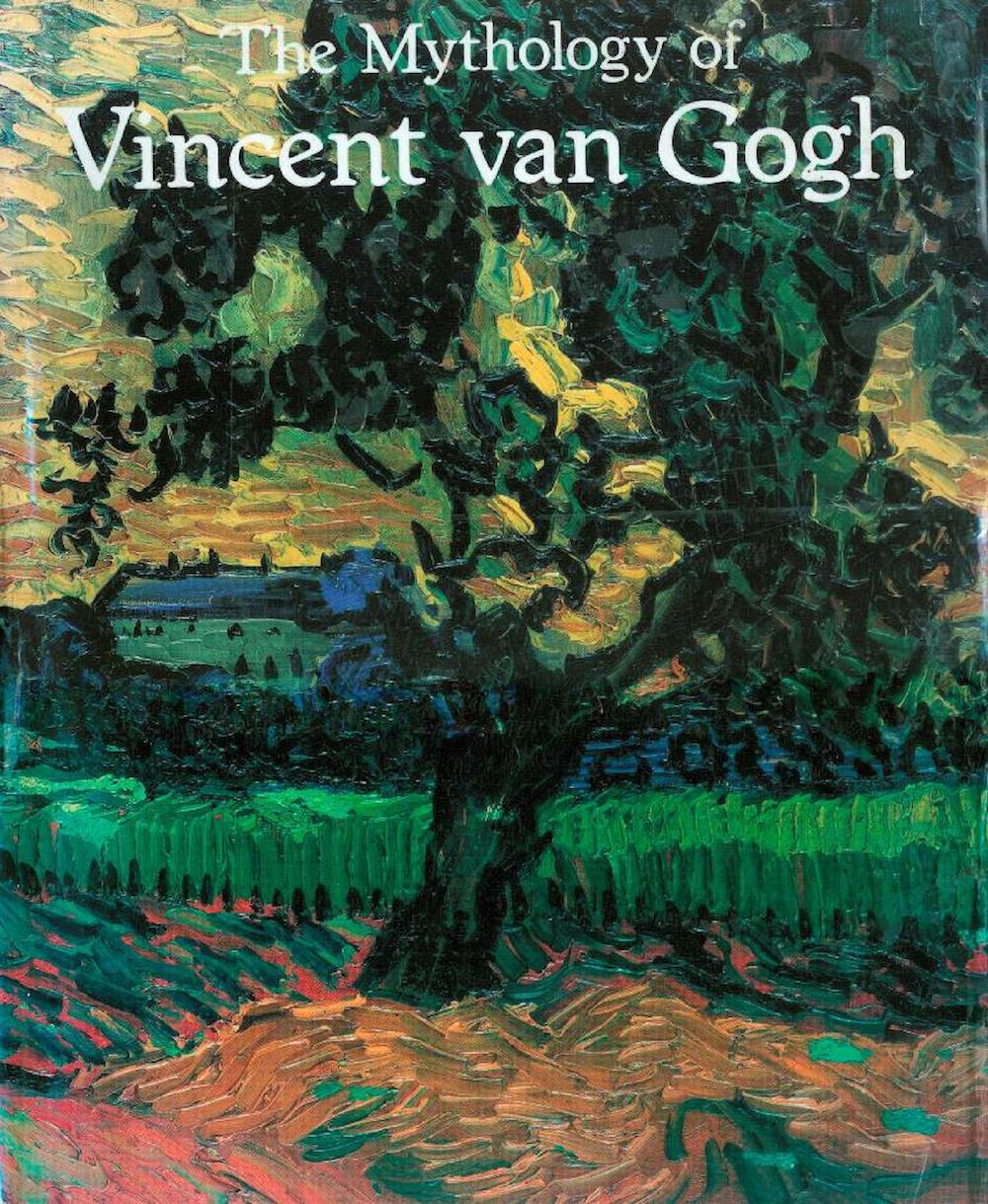 """陳錦芳一幅非常有名的作品「梵谷 歸來」被彩色跨頁印刷到這本有關 梵谷非常重要而多面向的藝術研究 專書。「梵谷的神話」(461頁, 1993年,日本朝日電視公司出版) Inside, they gave their own interpretation of Dr. Chen's artwork: """"Whereas Hahn's Van Gogh comprises a serious statement about modern culture, the images in T.F. Chen's 'Post – Van Gogh Series' of 1990 are simply meant to amuse, the humour emerging from an amalgamation of the unlike. Chen's Vincent Coming Home! (fig. 70) is a mundane image generated by transforming objects of great art into a scene from daily life, a typically post-Modernist form of confrontation. The basis for his composition is Matisse's Harmony in Red (1908-09)."""