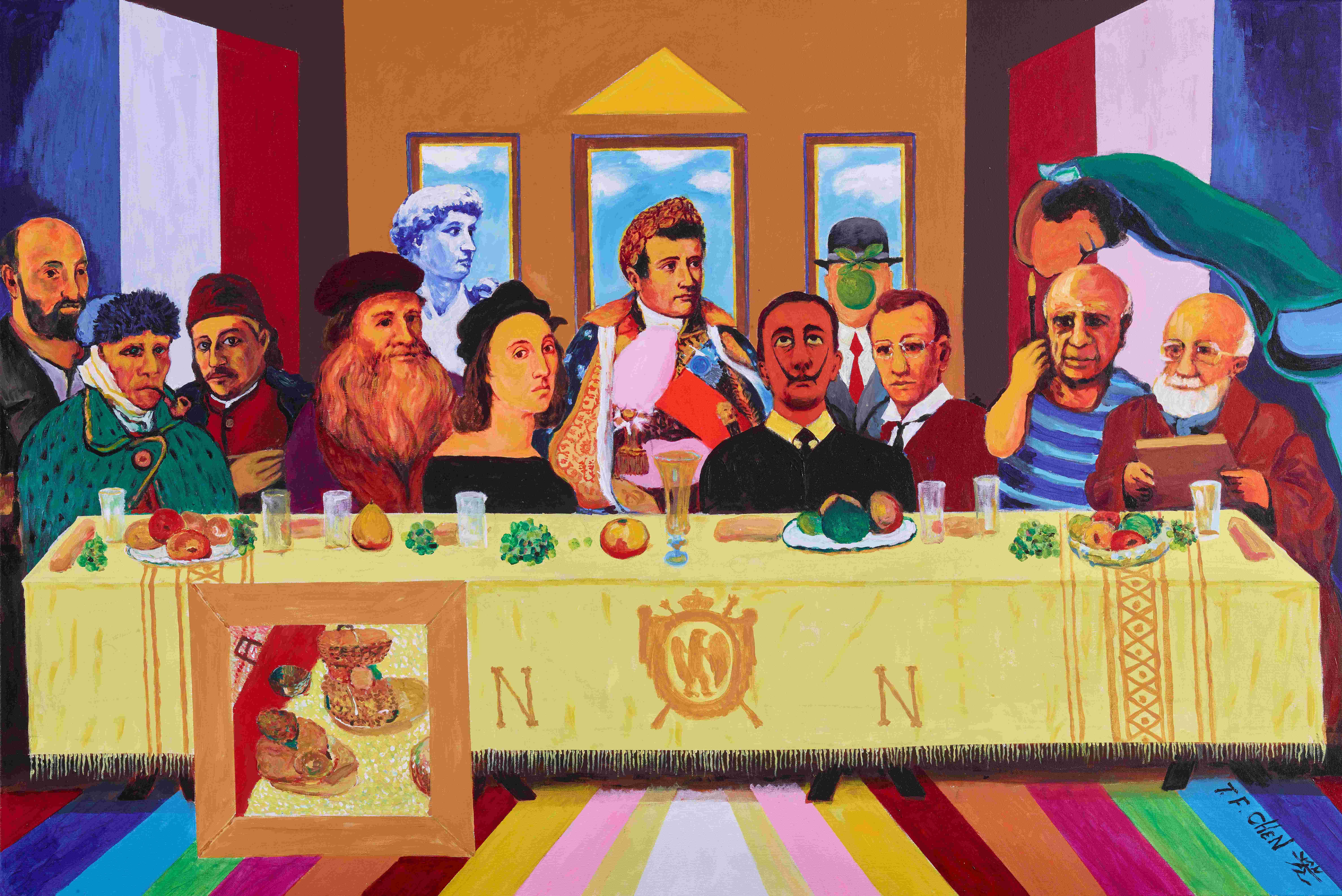 A18. Lasting Supper for Modernity Toward Millennity-從現代性迎向千禧性(以愛為宗的全球新文藝復興)